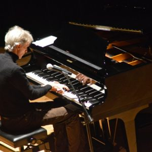 Mark McKenzie performing rare solo concert of original music in Lake City, Minnesota